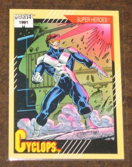 Marvel Universe Series 2 (Impel 1991) Card #51- Cyclops NM
