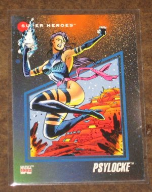 Marvel Universe Series 3 (Impel 1992) Card #51- Psylocke NM