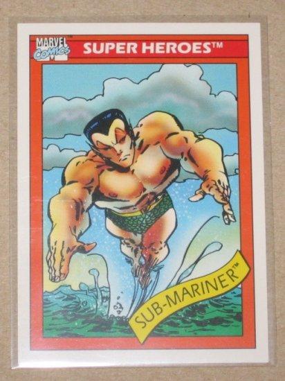Marvel Universe Series 1 (Impel 1990) Card #16- Sub-Mariner NM