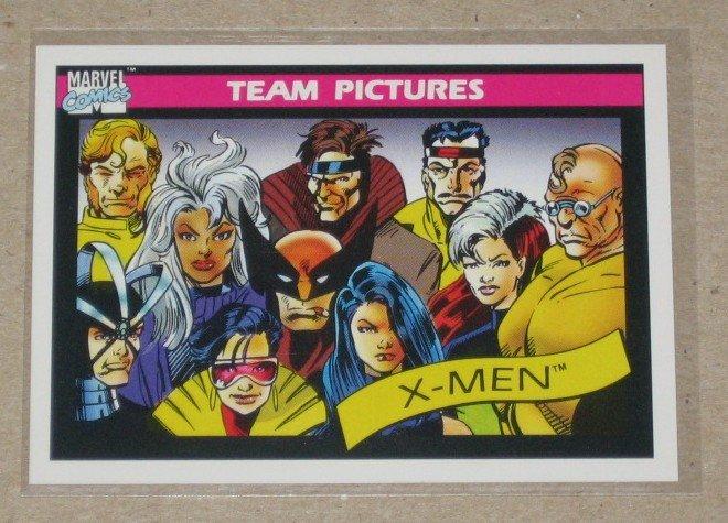 Marvel Universe Series 1 (Impel 1990) Card #139- X-Men NM