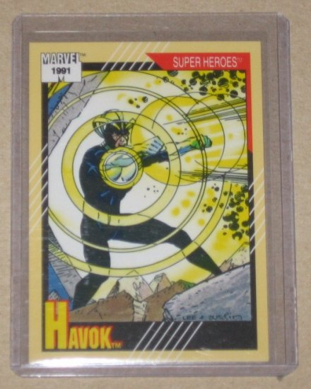 Marvel Universe Series 2 (Impel 1991) Card #27- Havok NM