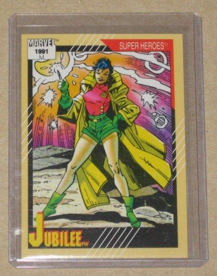 Marvel Universe Series 2 (Impel 1991) Card #38- Jubilee NM