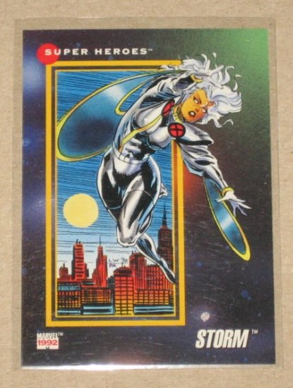 Marvel Universe Series 3 (Impel 1992) Card #30- Storm NM