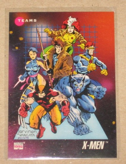 Marvel Universe Series 3 (Impel 1992) Card #182- X-Men NM