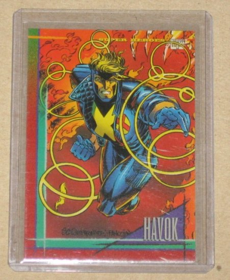 Marvel Universe Series 4 (SkyBox 1993) Card #43- Havok NM