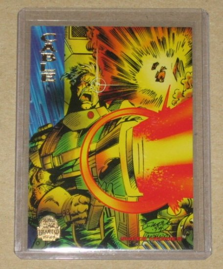 Marvel Universe 1994 (Fleer) Card #94- Cable NM