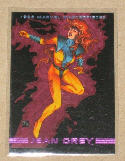 Marvel Masterpieces 1993 (SkyBox) Card #75- Jean Grey NM