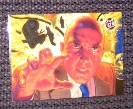 X-Men, 1994 Fleer Ultra Team Portrait Card #6- Professor X NM