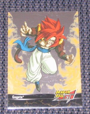 Dragon Ball GT (Artbox 2003) Foil Card R9- Gogeta NM