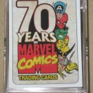 70 Years of Marvel Comics (Rittenhouse 2010) - Full 72 Base Card Set NM