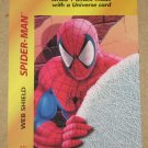 Marvel OverPower (Fleer 1995) - Spider-Man Web Shield Card NM