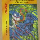 Marvel OverPower (Fleer 1995) - Venom Alien Webbing EX-MT
