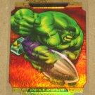 Marvel Masterpieces Set 2 (Upper Deck 2008) Movie Die-Cut Chase Card Hulk A EX-MT