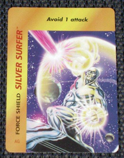 Marvel OverPower (Fleer 1995) - Silver Surfer Force Shield NM