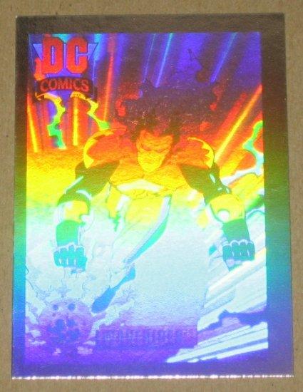 DC Cosmic Cards (Impel 1991) Hologram Card DCH10- Waverider EX