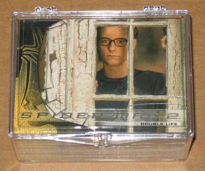Spider-Man Movie 2 (Upper Deck 2004) - Full 70 Card Set EX