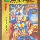 Marvel OverPower (Fleer 1995) - Thor Mjolnir Speaks Card NM