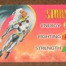 Marvel OverPower (Fleer 1995) - Storm Hero Card EX-MT
