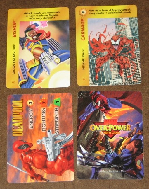 Marvel OverPower (Fleer 1995) - Single Card