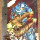 X-Men All Chromium, Fleer Ultra 1995 - Gold-foil Signature Card #80- Logan NM