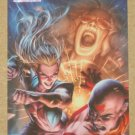 Marvel Heroes and Villains (Rittenhouse 2010) Parallel Card #62- Sage vs. Purge NM