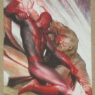 Marvel Heroes and Villains (Rittenhouse 2010) Parallel Card #4- Spider-Man vs. Kaine EX-MT