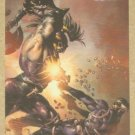 Marvel Heroes and Villains (Rittenhouse 2010) Parallel Card #8- Nick Fury vs. Ares EX