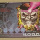 Marvel Heroes and Villains (Rittenhouse 2010) Most Wanted Card M4- M.O.D.O.K. EX