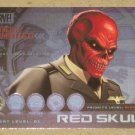 Marvel Heroes and Villains (Rittenhouse 2010) Most Wanted Card M7- Red Skull EX