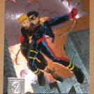 Amalgam (Fleer/SkyBox 1996) Power Blast Card #8- Fantastic Adventure #15 EX-MT