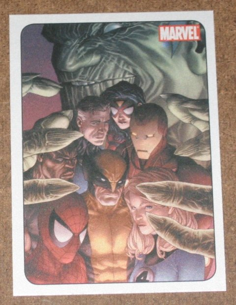 70 Years of Marvel Comics (Rittenhouse 2010) Metalic Ink Parallel Card #71- 2008 EX