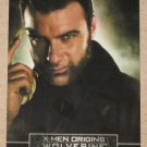 X-Men Origins: Wolverine Movie Casting Call Card C3- Liev Schreiber as Sabretooth EX