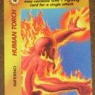 Marvel OverPower (Fleer 1995) - Human Torch Inferno Card EX