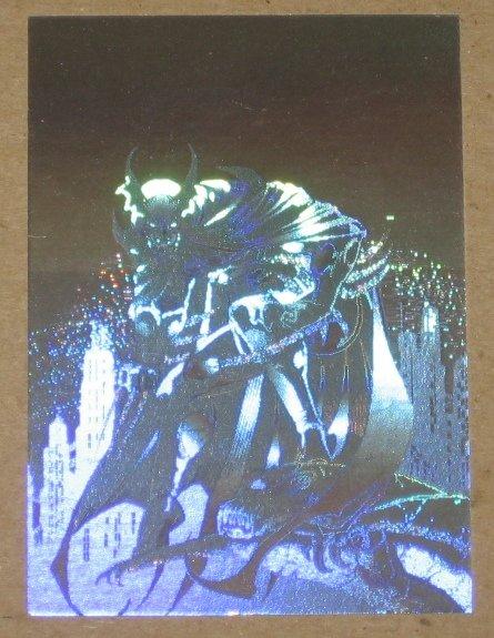 Amalgam (Fleer/SkyBox 1996) Holopix Card #1- Dark Claw EX