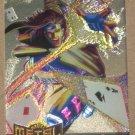 Marvel Metal (Fleer 1995) Gold Blaster Card #4- Gambit VG