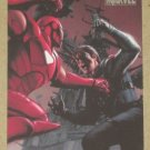Marvel Heroes and Villains (Rittenhouse 2010) Parallel Card #72- Iron Man vs. Winter Soldier NM
