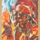 Marvel Heroes and Villains (Rittenhouse 2010) Parallel Card #61- Thor vs. Skrull EX-MT