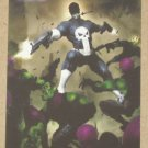 Marvel Heroes and Villains (Rittenhouse 2010) Parallel Card #69- Punisher vs. Skrull EX-MT