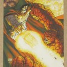 Marvel Heroes and Villains (Rittenhouse 2010) Parallel Card #18- Thing vs. Doom EX