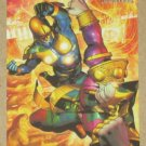 Marvel Heroes and Villains (Rittenhouse 2010) Parallel Card #23- Nova vs. Sphinx EX