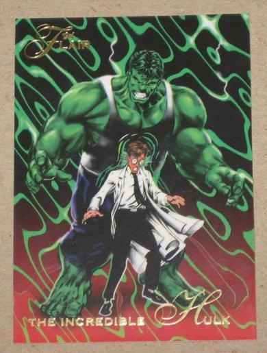 1994 Flair Marvel Universe (Fleer) Card #2- The Incredible Hulk EX-MT