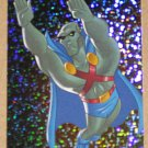 Justice League (Inkworks 2003) World's Greatest Heroes Card WGS1- Martian Manhunter EX