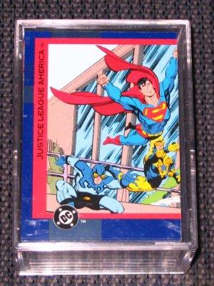 DC Cosmic Teams (SkyBox 1993) - Full 150 Card Set EX