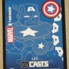 Marvel Masterpieces Set 1 (Upper Deck 2007) Subcasts Card #5- Captain America EX