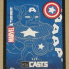Marvel Masterpieces Set 1 (Upper Deck 2007) Subcasts Card #5- Captain America VG