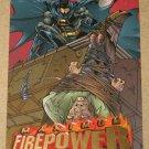DC Outburst FirePower (Fleer/SkyBox 1996) Maximum Card #1 EX