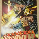 DC Outburst FirePower (Fleer/SkyBox 1996) Maximum Card #4 EX