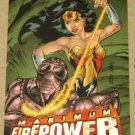 DC Outburst FirePower (Fleer/SkyBox 1996) Maximum Card #14 EX
