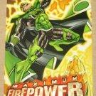 DC Outburst FirePower (Fleer/SkyBox 1996) Maximum Card #15 EX