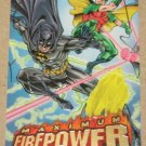 DC Outburst FirePower (Fleer/SkyBox 1996) Maximum Card #18 EX